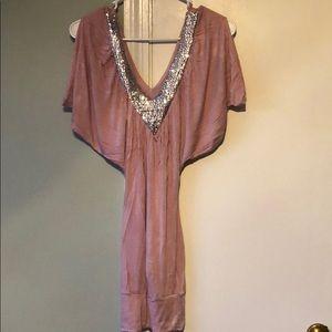Dresses & Skirts - Pink sequin dress